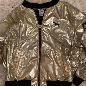 Vs pink jacket, size extra small